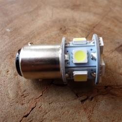 LED 6V BAY 15 D luz de freno y posicion piloto trasero COMPACT