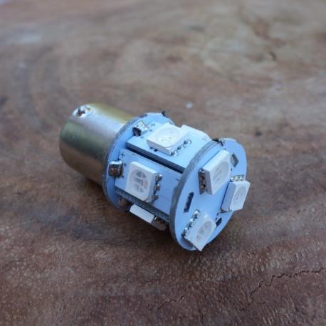 LED 6V BA 15 S rot