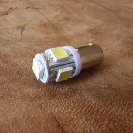 LED bulb white BA9S pilot lamp EXTRA