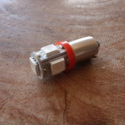 LED bulb red 6V BA9S control light EXTRA