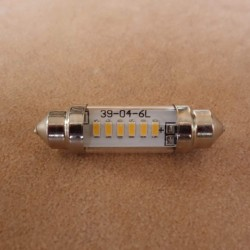 LED bulb warm white feeston 6V 10 x 39 CLASSIC