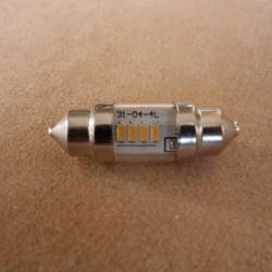 LED bulb warm white feeston 6V 10 x 31 CLASSIC
